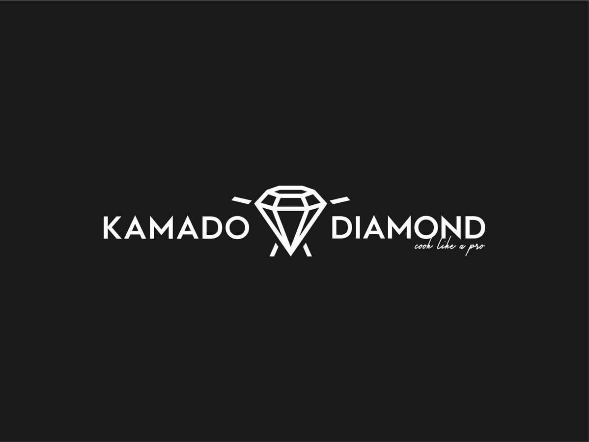 Kamado Diamond - Cook like a PRO   |   Logotipų kūrimas - www.glogo.eu - logo creation.