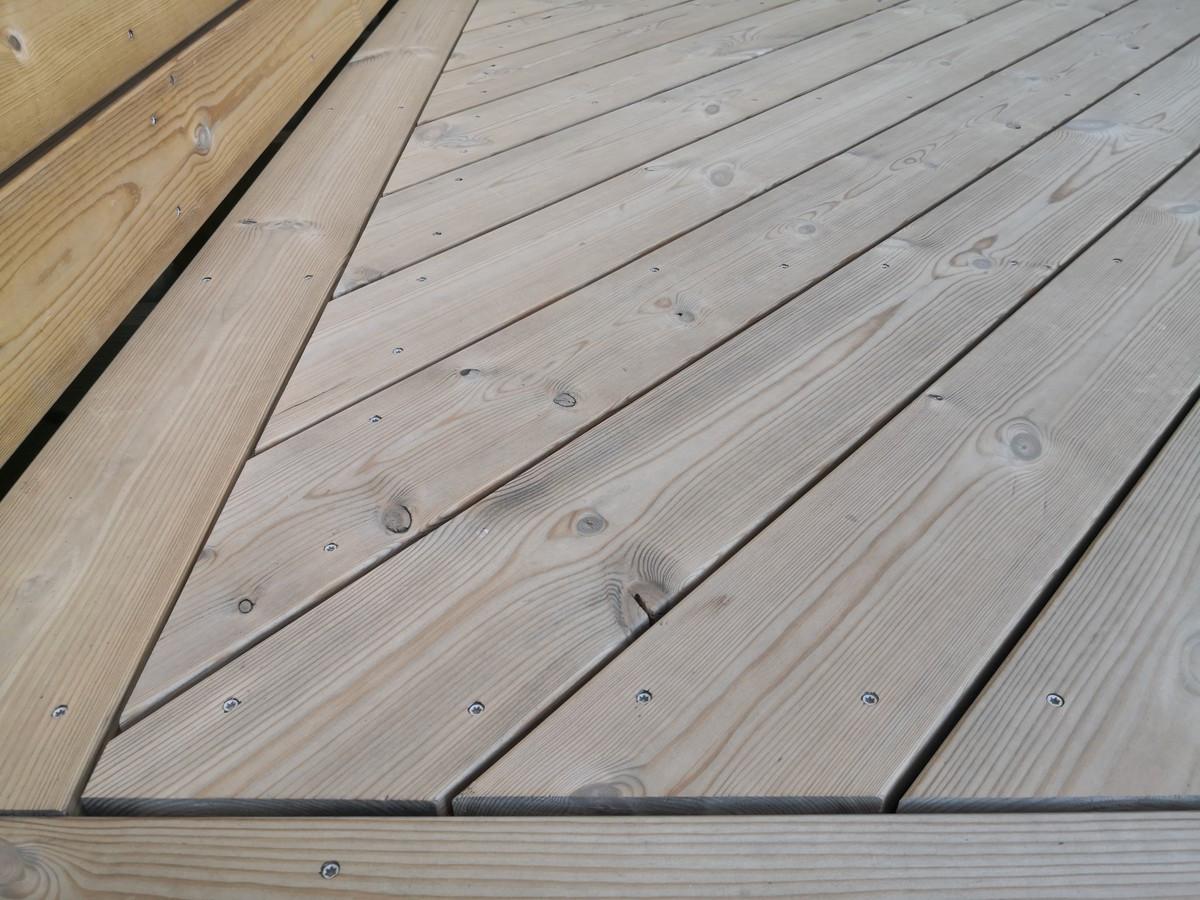 Termo terasos  detalė