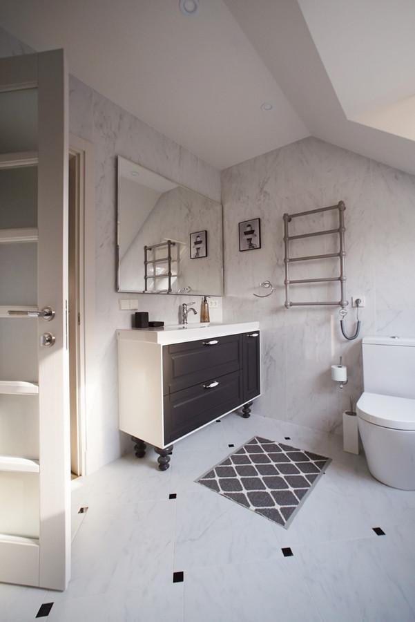 Vonios kambario baldai pagaminti pagal individualų projektą