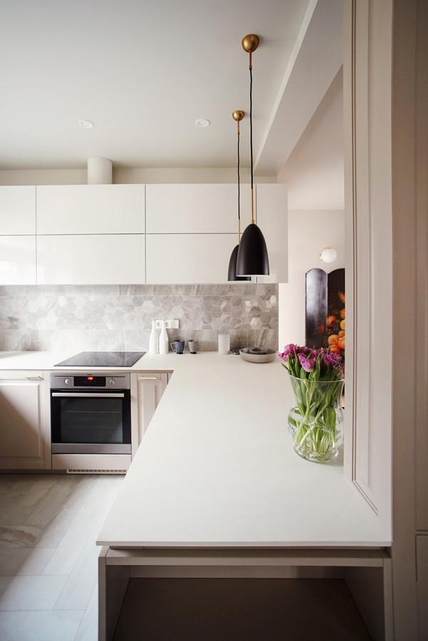 Virtuvės interjeras.