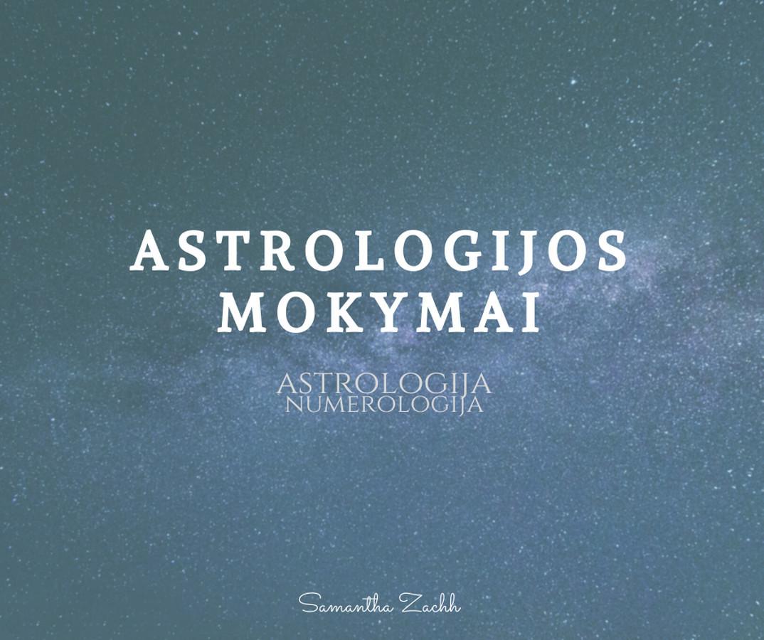 Astrologijos ir numerologijos kursas