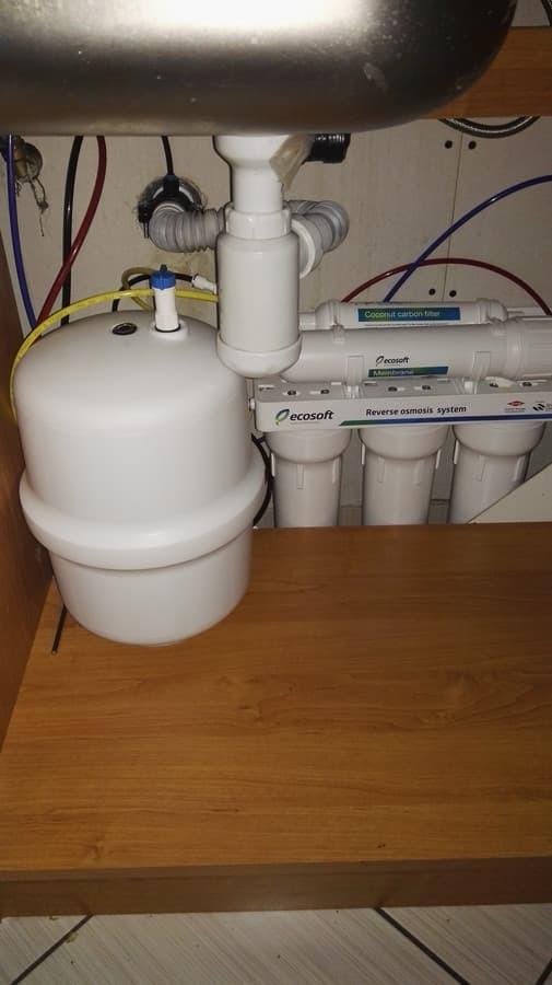 Geriamojo vandens ruošimo sistema Ecosoft. Rokiškio rajonas.