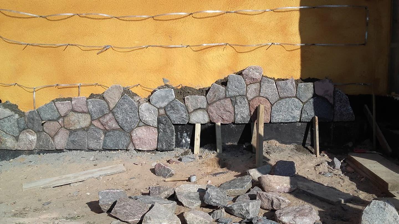 Profesionalus akmens muras