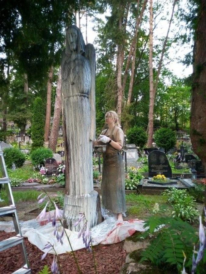 medinių paminklų restauracija ir priežiūra