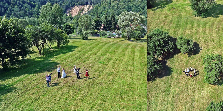 Vestuvių foto sesija šalia Belmonto, vestuvių fotografavimas ir filmavimas iš drono, vestuvių fotografavimas dronu, vestuvių foto sesija iš drono