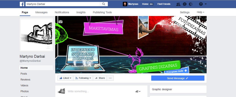 """Įdomių """"Facebook"""" viršelių kūrimas"""