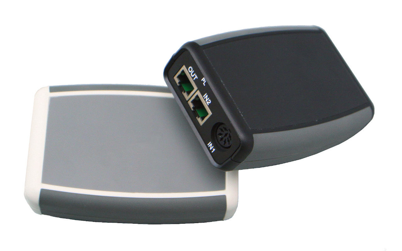 Bang and Olufsen powerlink audio komutatorius skirtas integruoti praktiškai bet kokią audio sistemą į B&O audio sistemą.