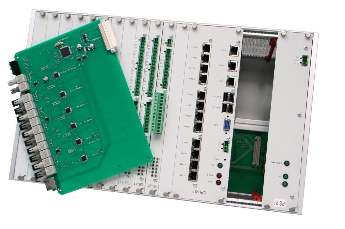 Enilit Remote Terminal Unit ( RTU ) projektas atliktas pagal užsakovo reikalavimus.