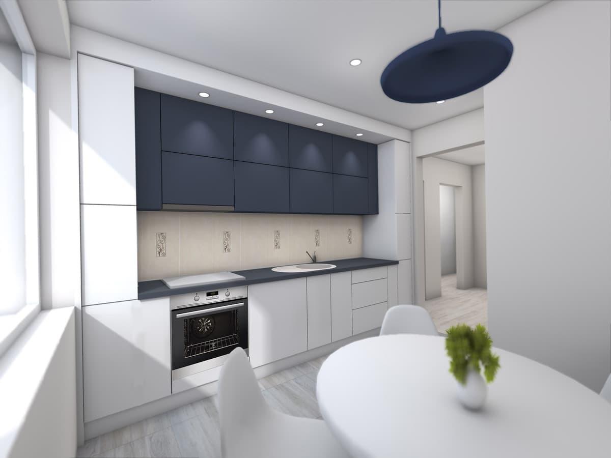 Virtuvės vizualizacija