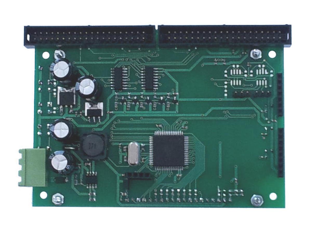 60 PWM kanalų LED valdymo plokštė.