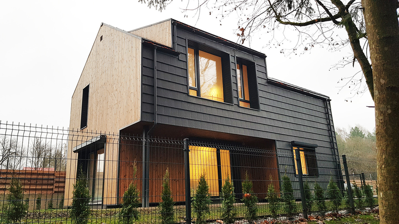 Gyvenamasis namas kvartele Vilniuje