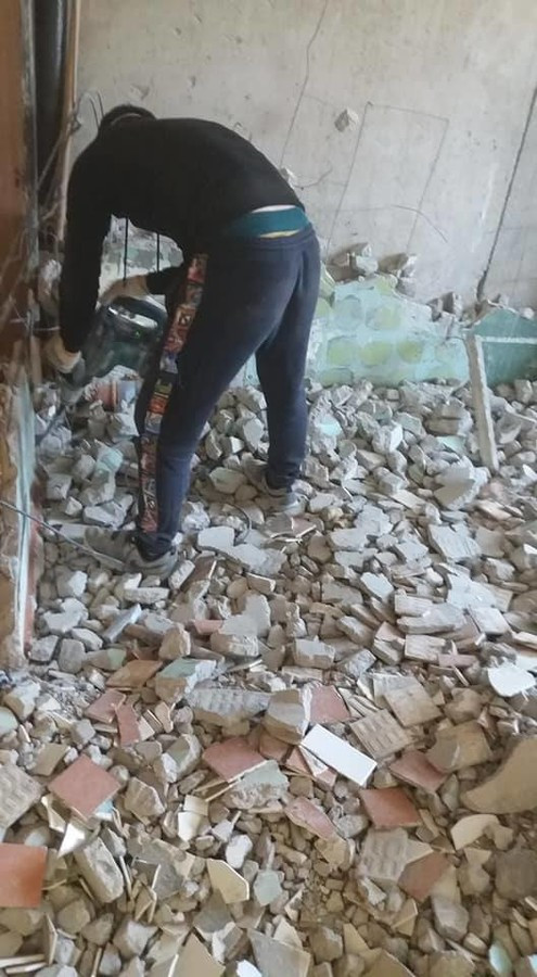 """Vonios ir tualeto kabinos (""""kapsulės"""") demontavimas"""