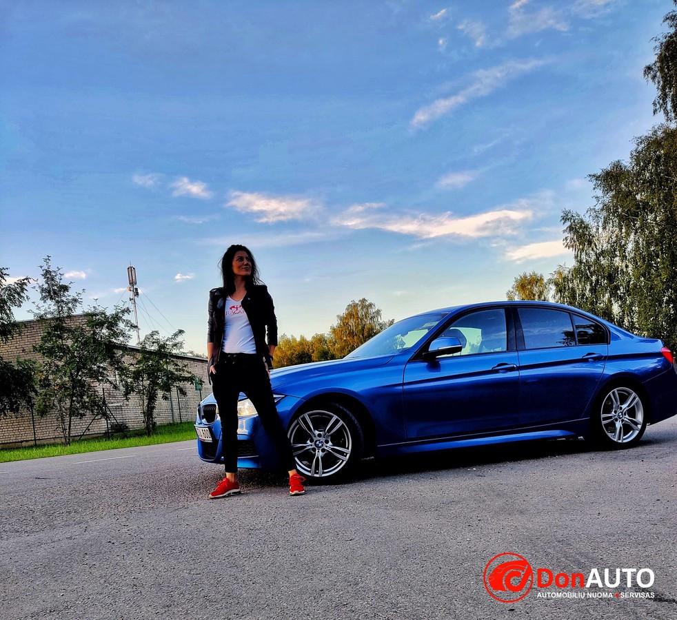 Prabangių BMW markės automobilių nuoma Šiauliuose
