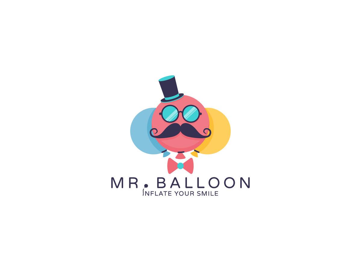 Mr. balloon       Logotipų kūrimas - www.glogo.eu - logo creation.