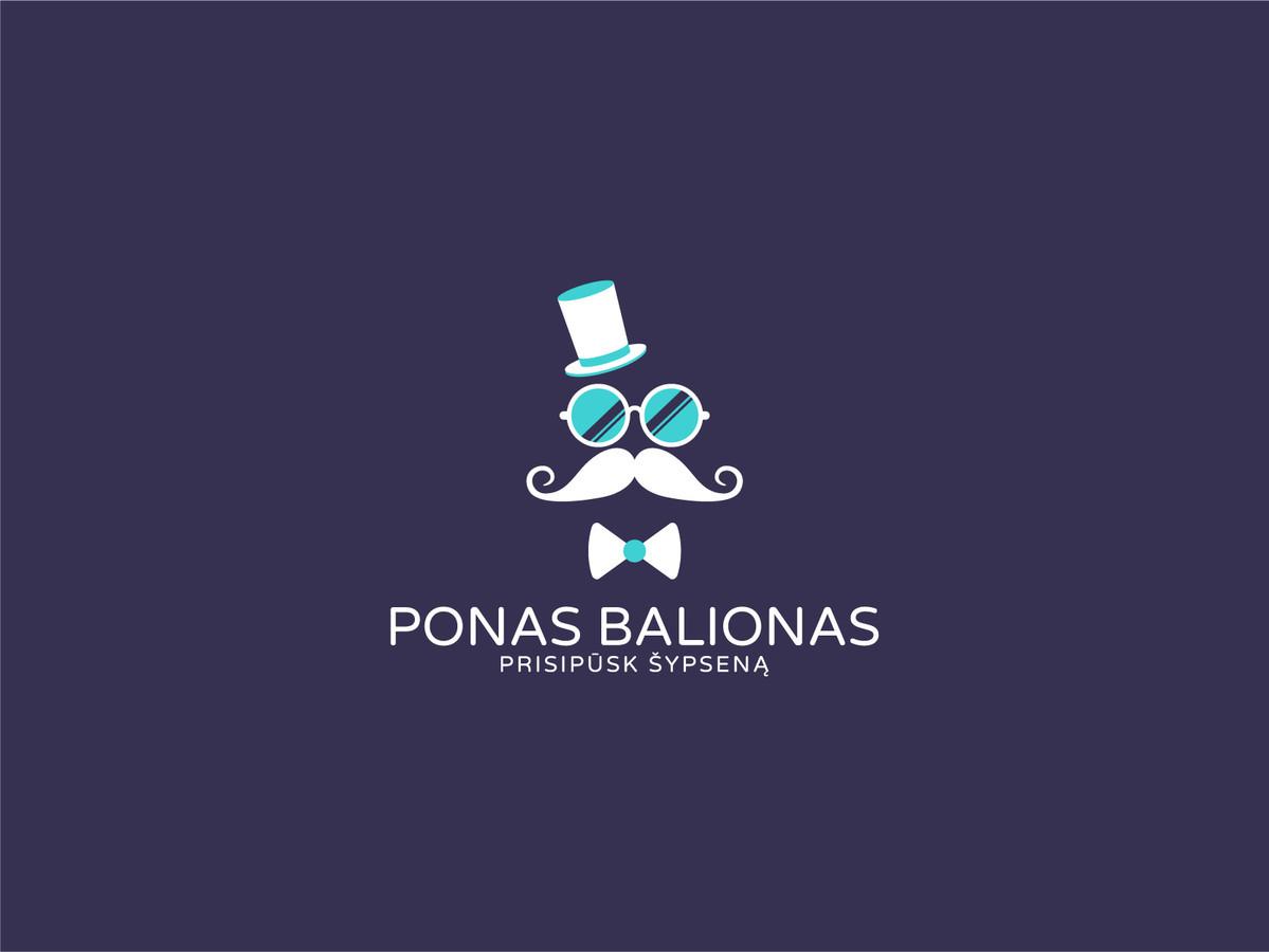 Ponas balionas  |   Logotipų kūrimas - www.glogo.eu - logo creation.