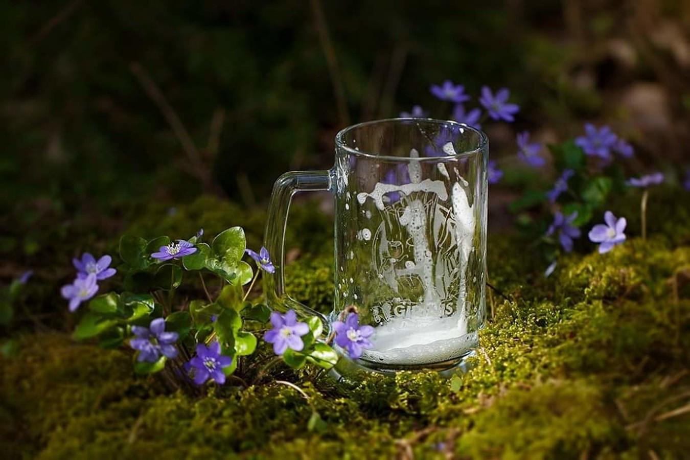 Tuščias bokalas alaus