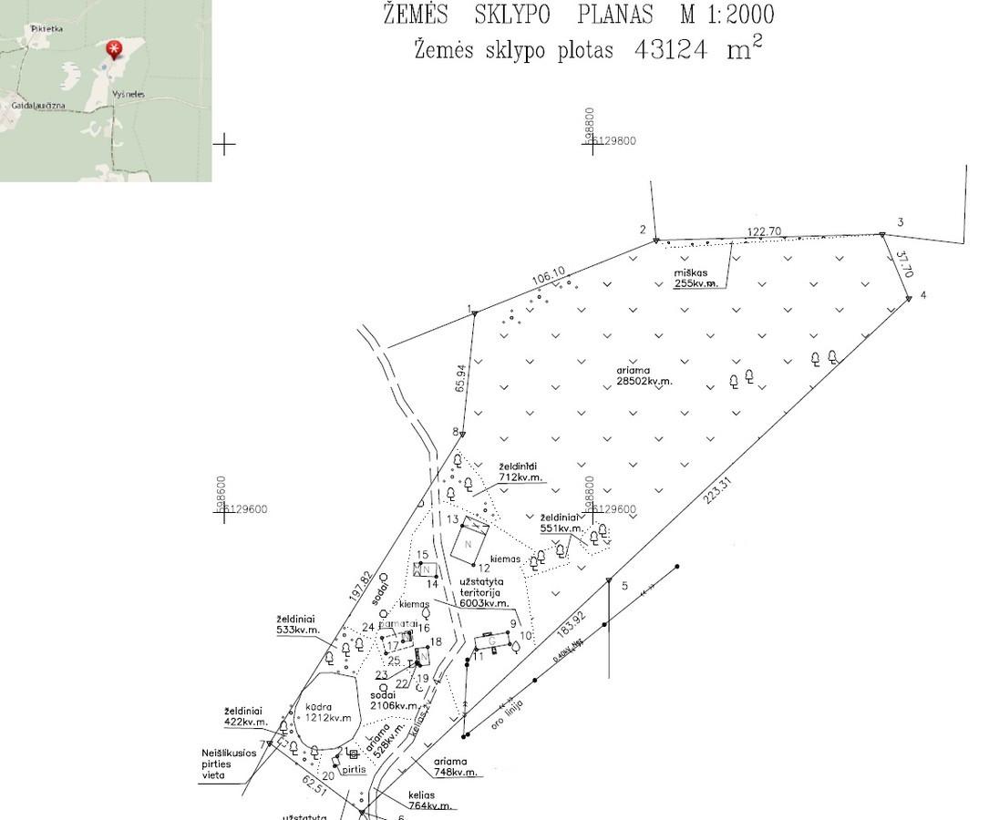 Žemės slypų geodeziniai matavimai ( priklauso nuo objekto dydžio, vietos, paskirties, posūkio taškų skaičiaus, sudėtingumo)