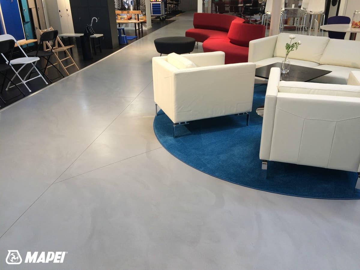 ULTRATOP cementinė savaime išsilyginanti grindų danga. Natūralus efektas. Prekybos salonas Rygoje.  http://velvemst.lt/uploads/517_ultratop_lt_160318.pdf
