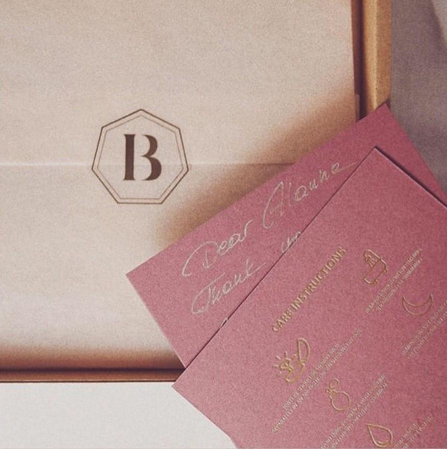 Logotipas ir juvelyrikos priežiūros kortelės sukurtos - BIRSENAITE JEWELRY