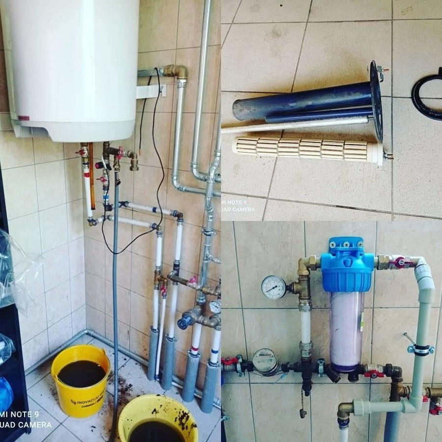 """Jaučiate nemalonų karšto vandens kvapą ? Greičiausiai reikia išplauti boilerį ir pakeisti viduje esanti """"anodą"""". Domina ? kreipkitės, pakonsultuosim, sutvarkysim."""