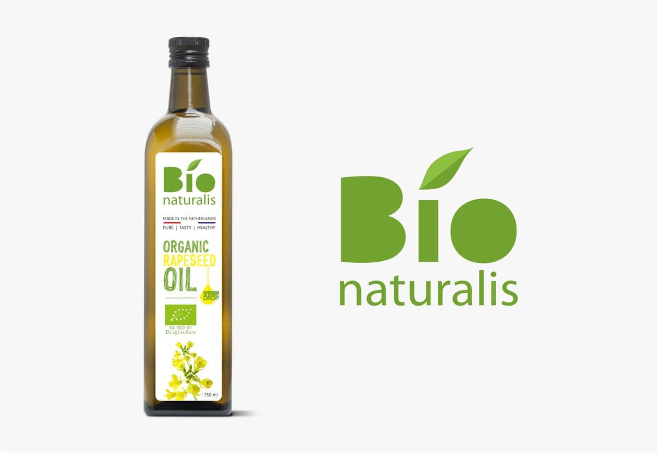 Rapsų aliejaus etiketės sukūrimas, Bionaturalis