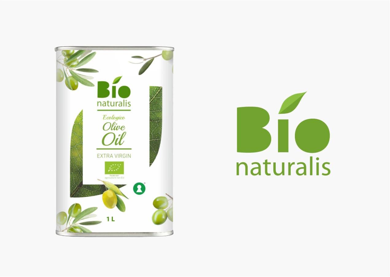 Alyvuogių aliejaus etiketės sukūrimas, Bionaturalis