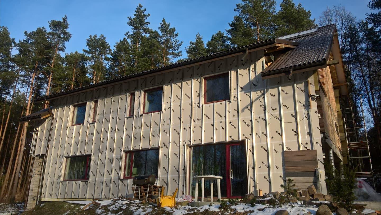 aliuminio profiliai, ventiliuojamas fasadas