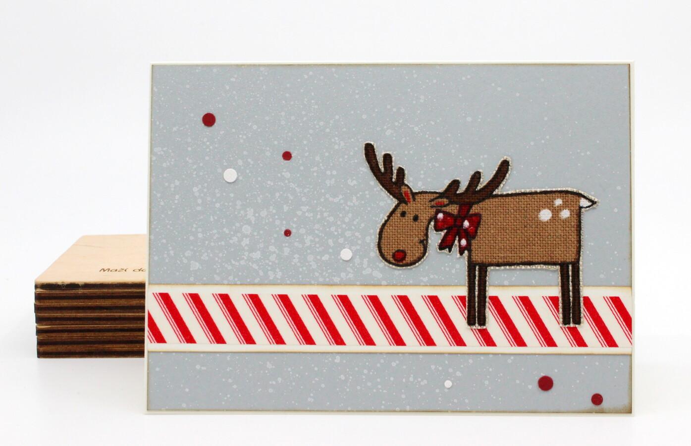 kalėdinis atvirukas