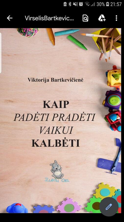 """Knyga """"Kaip padėti pradėti vaikui kalbėti"""", užsisakyti galite www.zuikiuola.lt/parduotuve"""