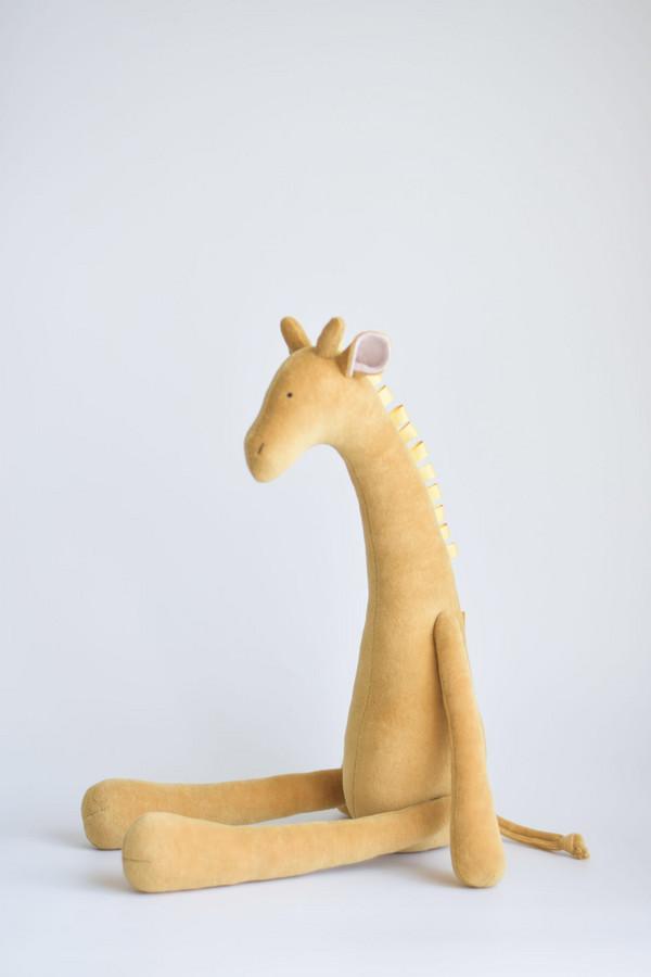 Žirafa garstyčių spalvos