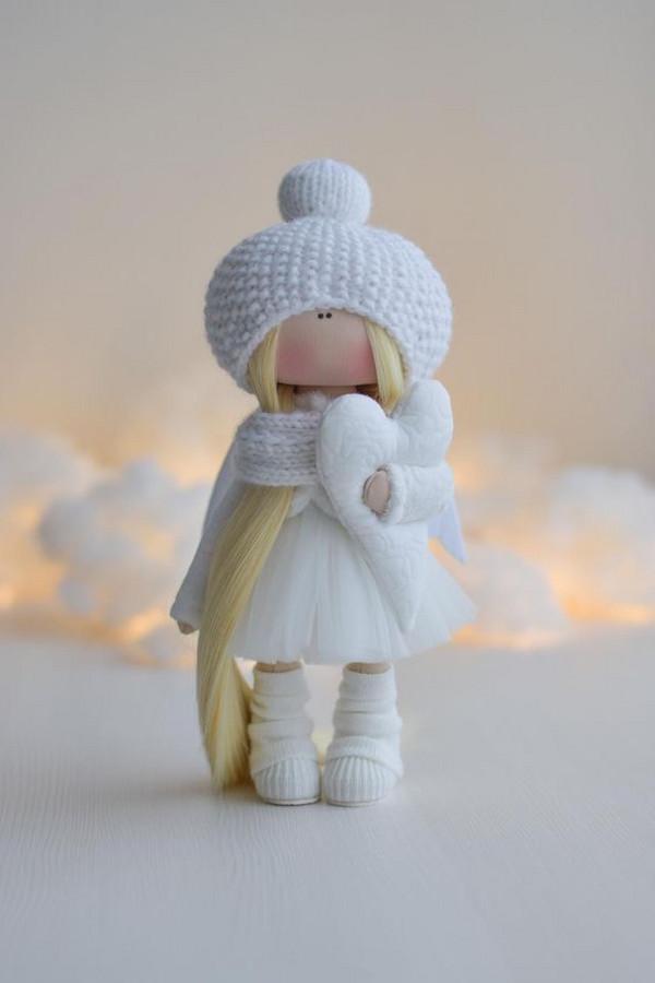 Interjerinė lėlė angelas