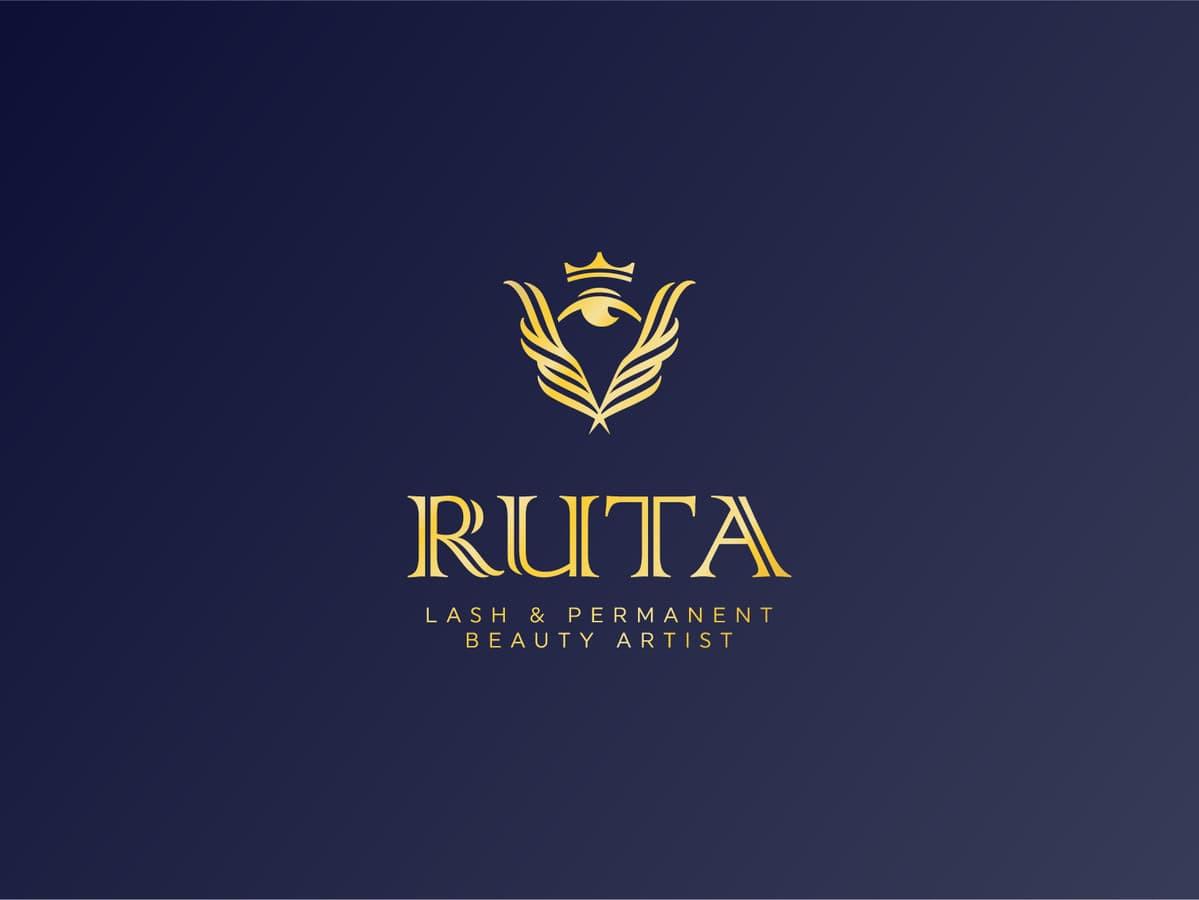 Ruta - lash & permanent beauty artist   |   Logotipų kūrimas - www.glogo.eu - logo creation.
