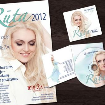 Dainininkė Rūta Ščiogolevaitė | Afiša ir CD   Singer Rūta Ščiogolevaitė | Gig Poster and CD
