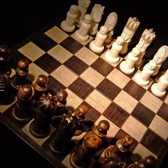 Rankų darbo šachmatai