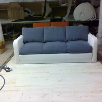 Naujas gobelenas, padidintas baldas