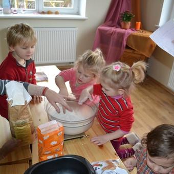 Duonelės kasdienės minkymo procesas