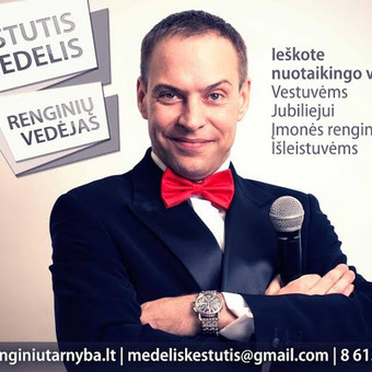 Renginių vedėjas / Kęstutis Medelis / Darbų pavyzdys ID 2384