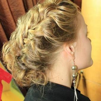 Plaukai, blakstienos, antakiai / Aldona Česevičienė / Darbų pavyzdys ID 3218
