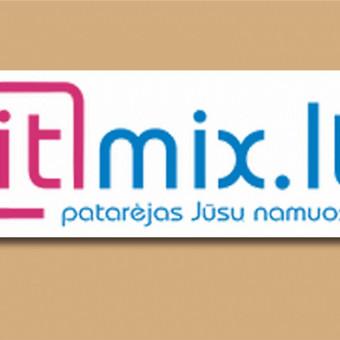 "logotipas ""IT mix"" įmonei."