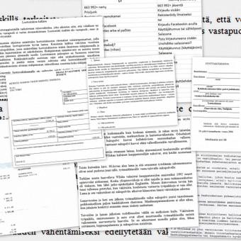 Suomių kalbos vertimai / Renata / Darbų pavyzdys ID 3531
