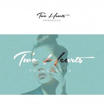 TWO HEARTS FOTOGRAFIJA logotipas