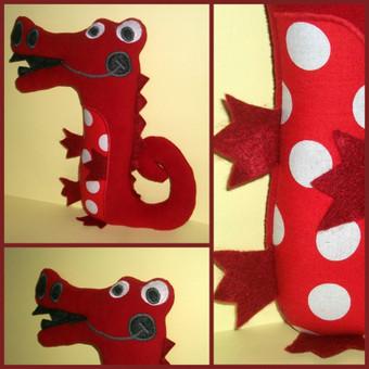 Raudonas krokodilas