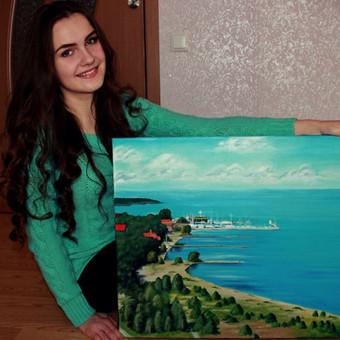 Portretų piešimas, paveikslų tapyba. / Sandra Stalmokaitė / Darbų pavyzdys ID 6119