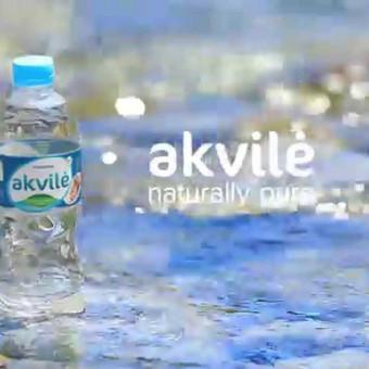 Mineralinis vanduo Akvilė   presentation clip