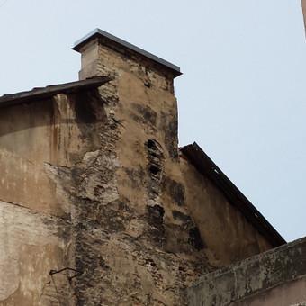 senų kaminų remontas ir valymas