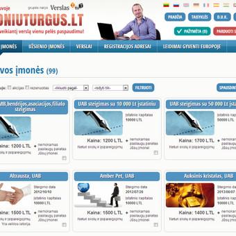 Įmonių prekybos sistema www.imoniuturgus.lt