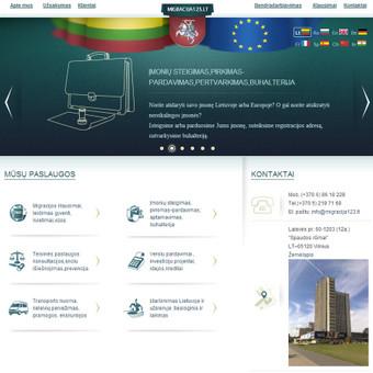 Migracijos paslaugų svetainė www.migracija123.lt