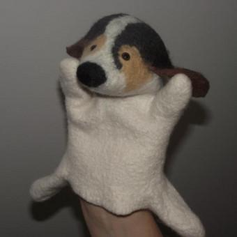 Veltas šuo, realaus gyvūno prototipas