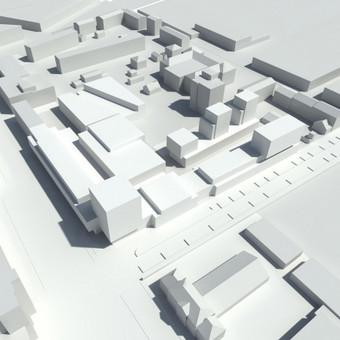 Teritorijos Šiauliuose urbanistinė koncepcija. 2013