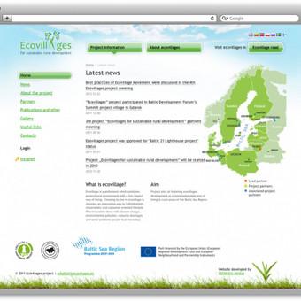 """Europos sąjungos projektas """"Baltic Ecovillages"""""""